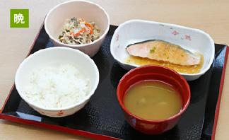 写真:夕食